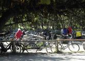 Radparkplatz am Leuchtturm